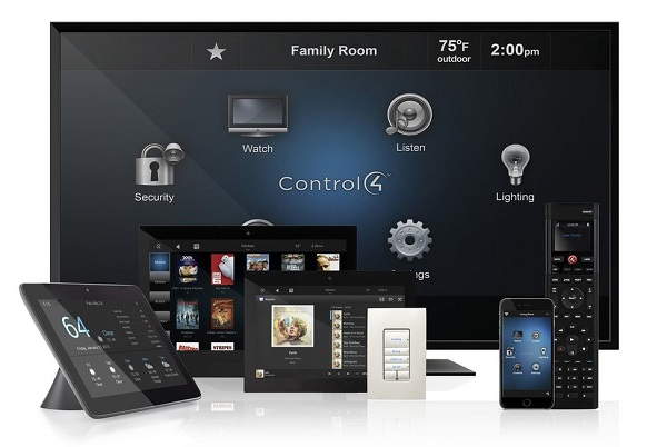 control4 smart home builders